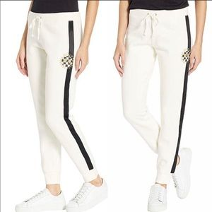 JUICY COUTURE Luxe Patch French Terry Pants